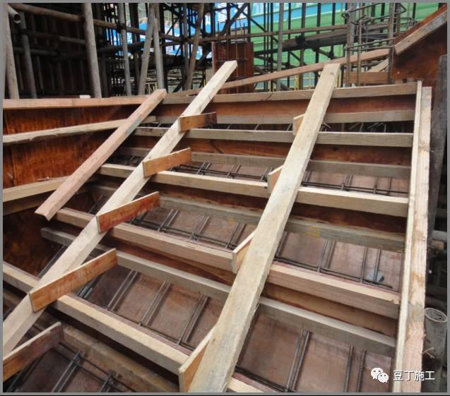 十,洞口模板 1,模板阴角处可用l150×150×6的角钢与木模固定,阳角处