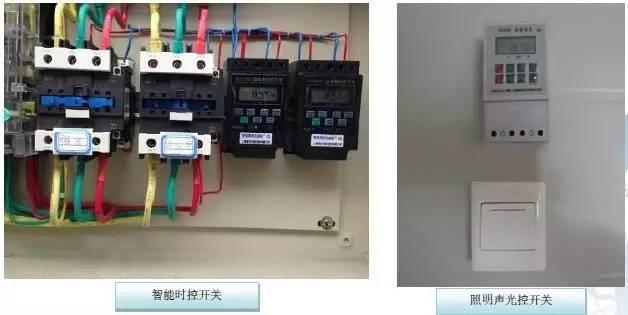 7.8 智能无功率补偿装置 在变压器、配电箱及大功率设备的开关箱内加装低压动态无功补偿装置,实施就地、分散和集中相结合的方式,单项及三相补偿相结合,提高输变电设备的利用率,降低电压损失,提高供电质量,降低线路损耗保证设备的运行安全,延长开关器件及电容的使用寿命,减少电能消耗。