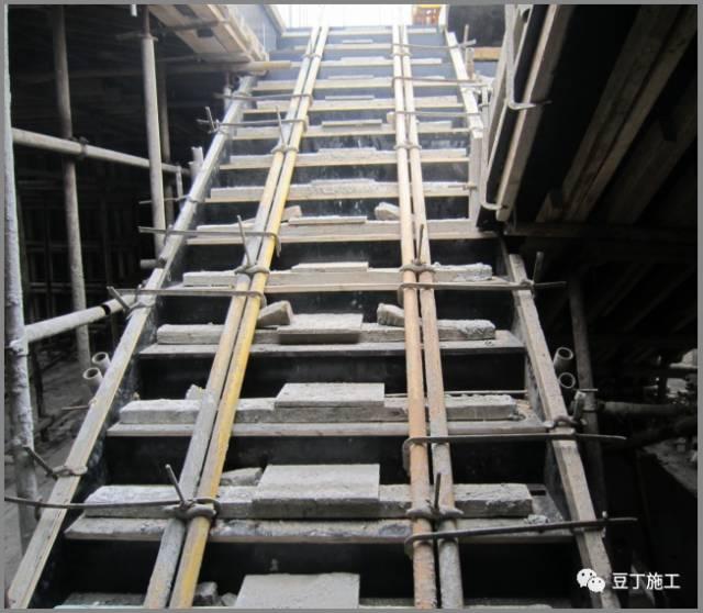 封闭式楼梯模板